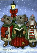 Sandra Estes - Christmas Caroler Mice