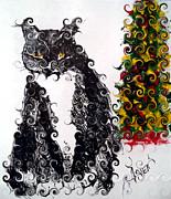 Arlen Avernian Thorensen - Christmas Cat