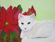 Pussycat Originals - Christmas Cat by Marita McVeigh
