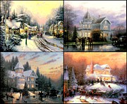 Kinkade Prints - Christmas Collection Print by Thomas Kinkade