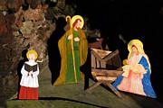 Christmas Crib Scene Print by Gaspar Avila