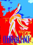 Dance Mixed Media Posters - Christmas Dance Poster by Patrick J Murphy