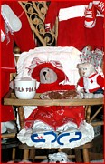 Highchair Posters - Christmas Delights Poster by Kathleen Struckle