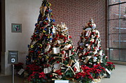 Holiday Metal Prints - Christmas Display - Mt Vernon - 01131 Metal Print by DC Photographer