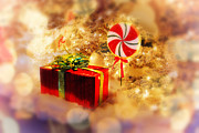 Candy Digital Art - Christmas Dream by Mary Timman