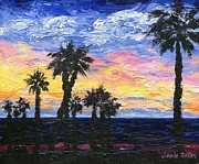 Beach Sunsets Originals - Christmas Eve in Redondo Beach by Jamie Frier