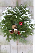Pine Needles - Christmas Evergreen Wreath by Lynn-Marie Gildersleeve