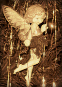 Fantasy Photos - Christmas Fairy by Brenda Conrad