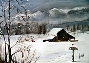 Arlen Avernian Thorensen - Christmas Farm House