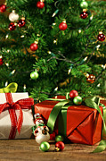 Sandra Cunningham - Christmas gifts under a tree