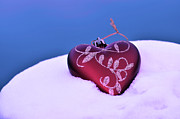 Christmas Decoration Originals - Christmas heart  by Tommy Hammarsten