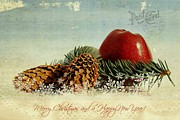 Christmas Greeting Prints - Christmas Print by Heike Hultsch