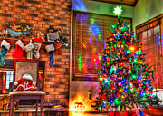 Tim Buisman Metal Prints - Christmas in HDR Metal Print by Tim Buisman