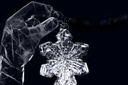 Carving Digital Art - Christmas in Ice by Sharon Mau