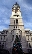 Philadelphia Scene Photos - Christmas In Philly by Skip Willits