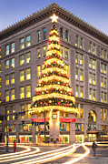 Pittsburgh Prints - Christmas in pittsburgh  Print by Emmanuel Panagiotakis