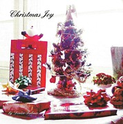 Photographs Mixed Media - Christmas Joy Book by Denise Fulmer