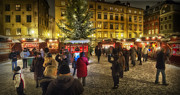 Christmas Market Photos - Christmas Market by Wade Aiken