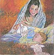Christ Child Posters - Christmas Noel Poster by Reveille Kennedy