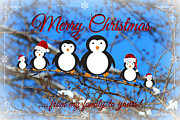 Living Waters Photography - Christmas Penguins
