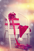 Father Christmas Prints - Christmas Presents Print by Christopher and Amanda Elwell