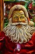 Father Christmas Prints - Christmas - Santa Claus Print by Lee Dos Santos