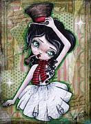 Lizzy Love of Oddball Art Co - Christmas Snowgirl...
