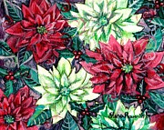 Shana Jackson Paintings - Christmas Splendor by Shana Rowe