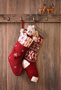Christmas Stockings Print by Christopher and Amanda Elwell
