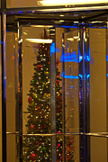 Άγιος Νικόλαος Prints - Christmas Through the Revolving Door Print by Paul Mangold