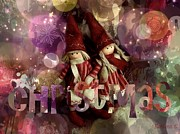 Toys Digital Art - Christmas time by Barbara Orenya