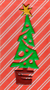 Christmas Greeting Originals - Christmas Tree by Amelia Kraemer