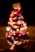 Aperture Photo Originals - Christmas Tree Bokeh by Robert Loe