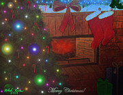 Candy Digital Art - Christmas Tree by Michael Rucker