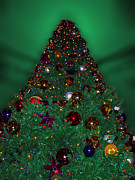 Artifacts Digital Art Posters - Christmas Tree Poster by Thomas Woolworth