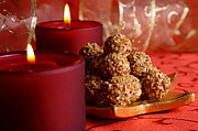Truffles Digital Art - Christmas Truffles by Shere Crossman
