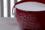 Winter Storm Photos - Christmas Tub by Wanda Brandon