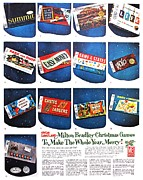 Sixties Posters - Christmas Wish List 1960 Poster by Benjamin Yeager