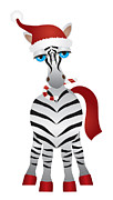 JPLDesigns - Christmas Zebra...