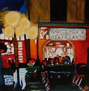 Waiter Originals - Christofs Cafe by Roxanna Smith