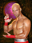Wwf Prints - Christopher Daniels Print by Dorothy Lee