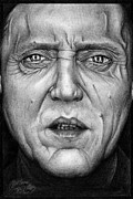Christopher Drawings - Christopher Walken by Colleen Trillow