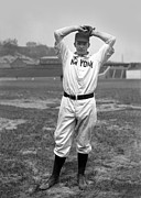 Christy Mathewson Wind Up Print by Retro Images Archive