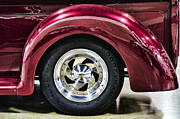 Wheel Framed Prints Posters - Chrome Wheel Poster by Ron Roberts
