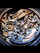 Pocket Watch Originals - Chronometer a study in the mechanics of time by Paul Gilbert Baswell