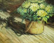 Sharen AK Harris - Chrysanthemums  in a...