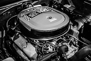 Magnum Photos - Chrysler 440 Magnum Six Pack Motor by Paul Velgos