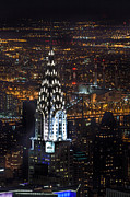New York Skyline Art - Chrysler Buiilding by John Farnan
