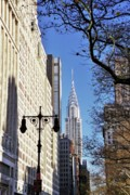 Skyscaper Posters - Chrysler Building Poster by Allen Beatty