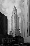 Chrysler Building Photos - Chrysler Building by David Guija Alcaraz